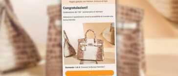 Ne répondez pas au message WhatsApp qui vous donne un sac Hermès : c'est une arnaque