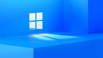Ce serait le logo du nouveau Windows (ou Windows 11)