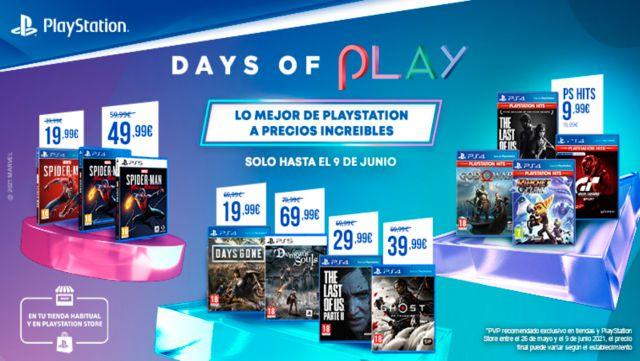 Days of Play : obtenez 12 mois de PS Plus et PS Now avec une remise de 25 %
