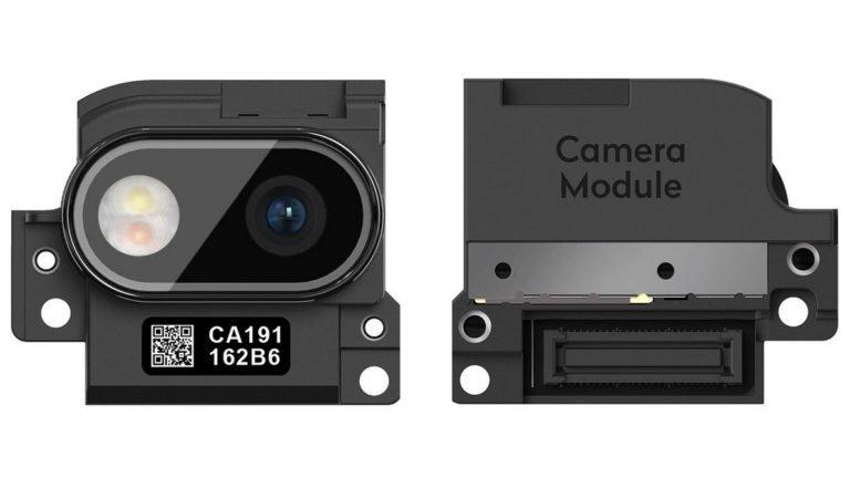 Module caméra du Fairphone 3+
