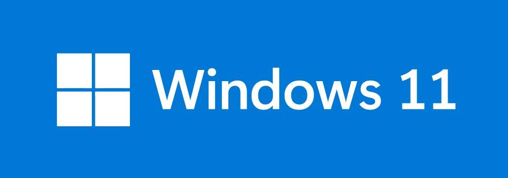 Logo Windows 11 inversé