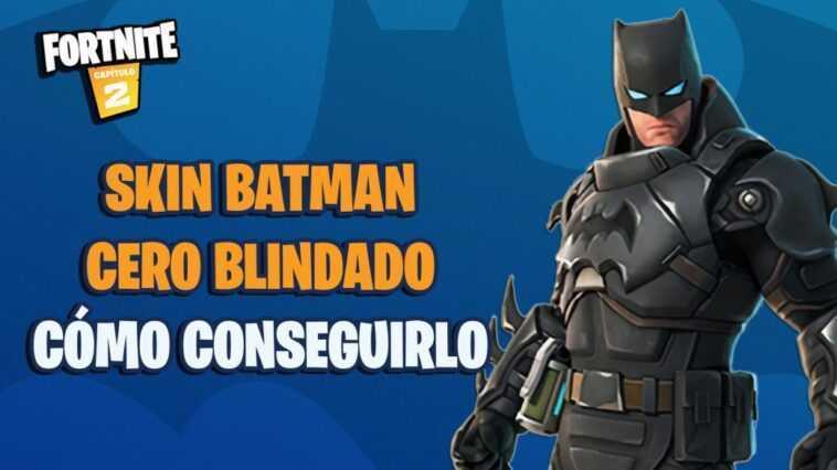 Fortnite : c'est le skin Batman Zero Armored ;  Comment l'obtenir