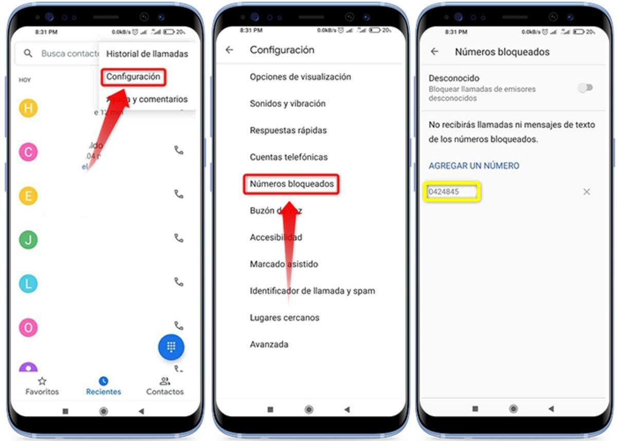 Comment voir les numéros bloqués sur votre mobile Android