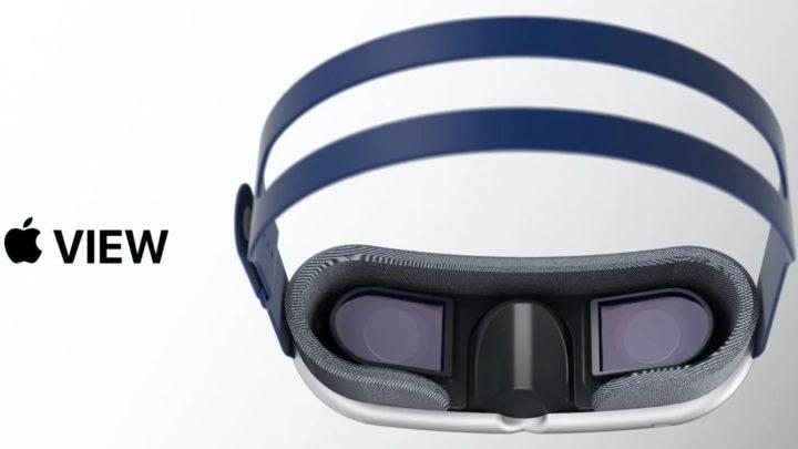 Ilustración de gafas de realidad aumentada de Apple