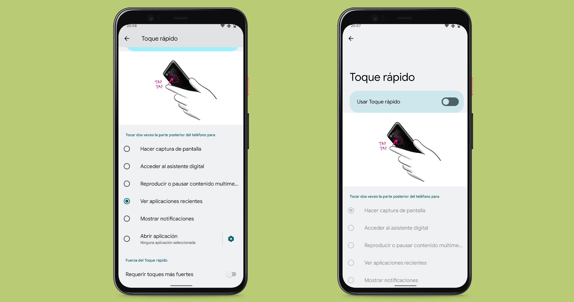 Appuyez rapidement sur Android 12 Beta 2
