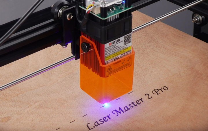 ORTUR lance Laser Master 2 Pro, un graveur laser de haute précision
