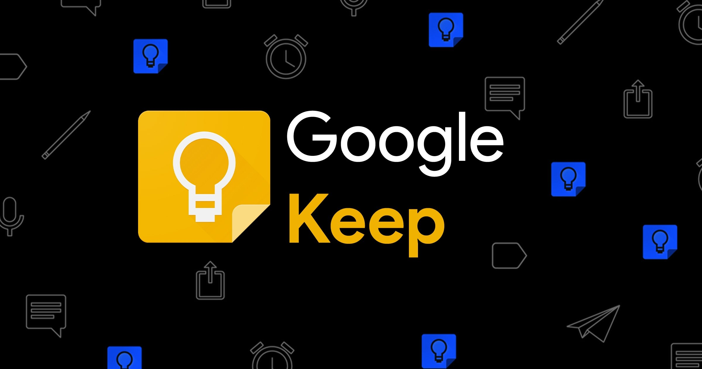 Google Keep, application de notes pour Android