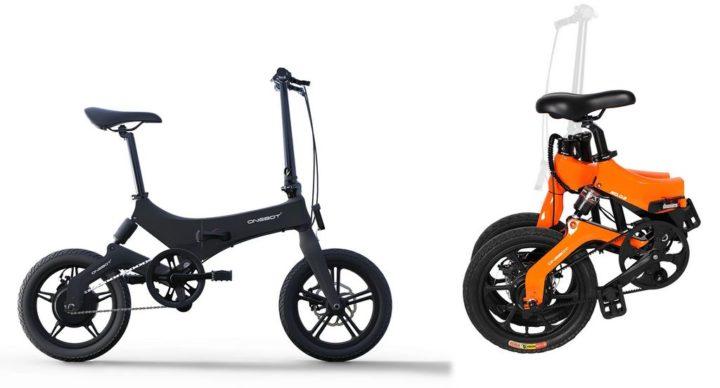 Onebot S6 - un vélo de ville électrique
