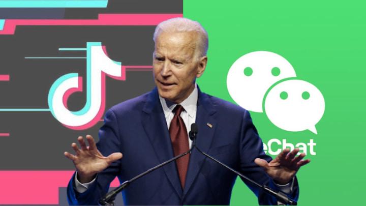 Joe Biden lève les interdictions sur WeChat et TikTok aux États-Unis.