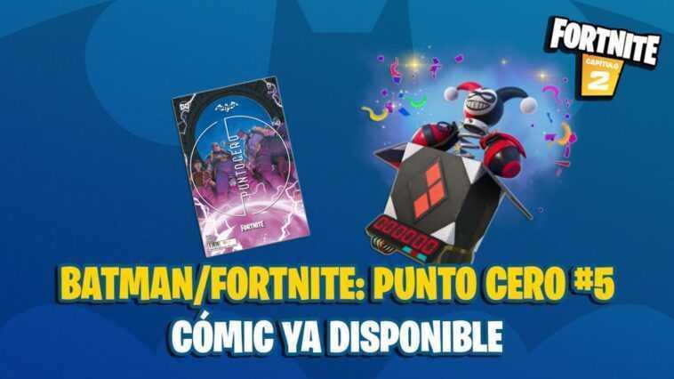 Batman x Fortnite Comic : Zero Point 5 maintenant disponible ;  où acheter et comment utiliser le code