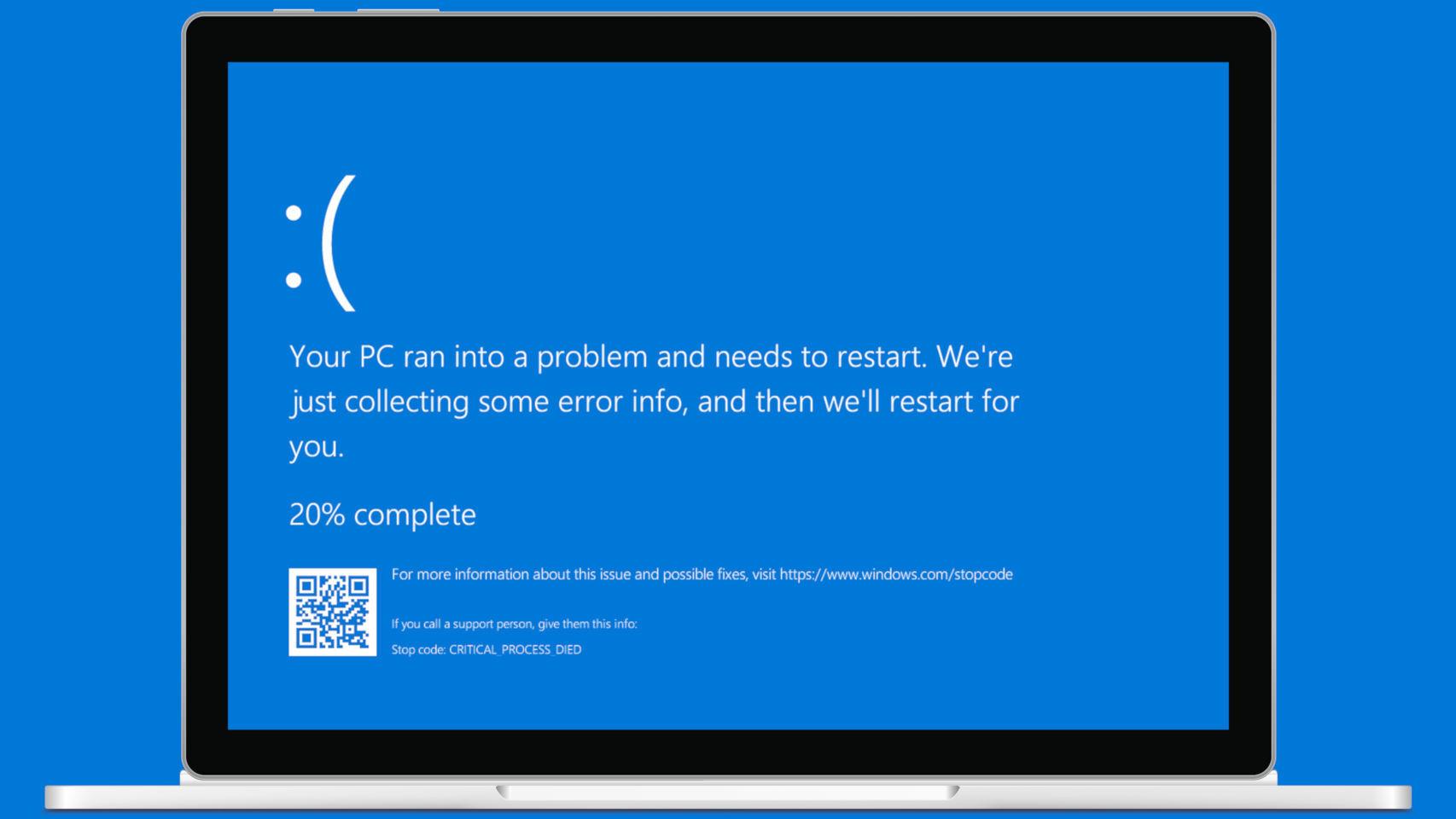 Écran bleu Windows 10