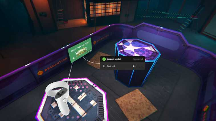 Facebook is testing VR ads for the Oculus platform