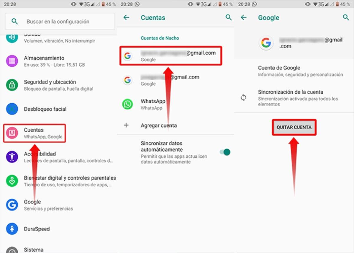Comment annuler un compte Gmail depuis un appareil mobile