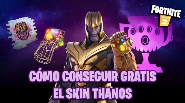 Comment obtenir gratuitement le skin Thanos dans Fortnite;  dates et heures de votre Coupe