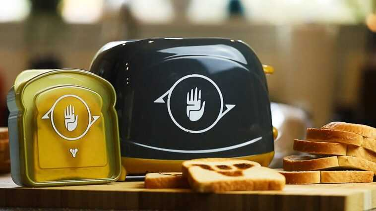 Bungie opens pre-orders for its Destiny toaster