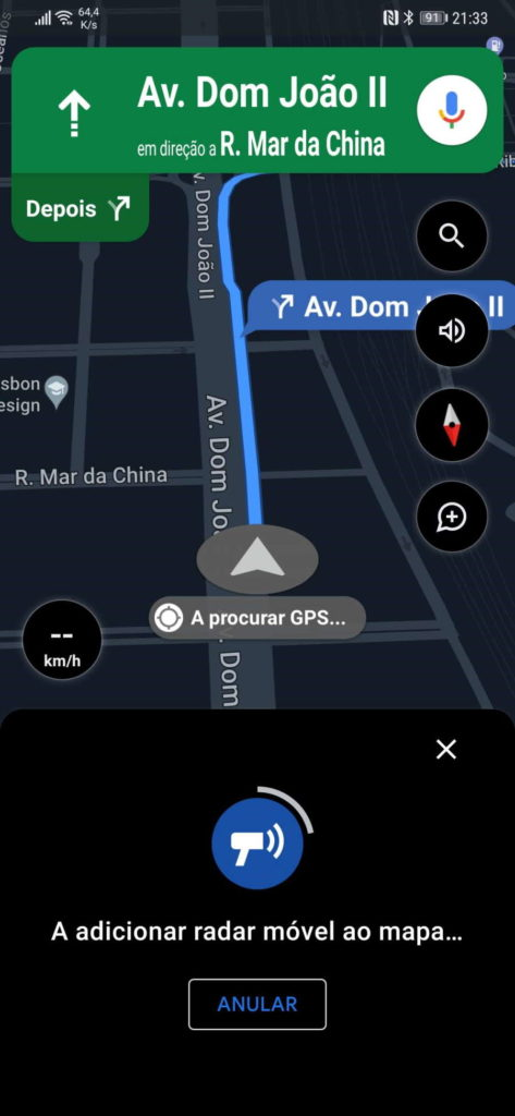 Problèmes de circulation sur les routes de Google Maps