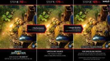 AMD Fidelity FX Super Resolution (FSR): découvrez comment cela fonctionne