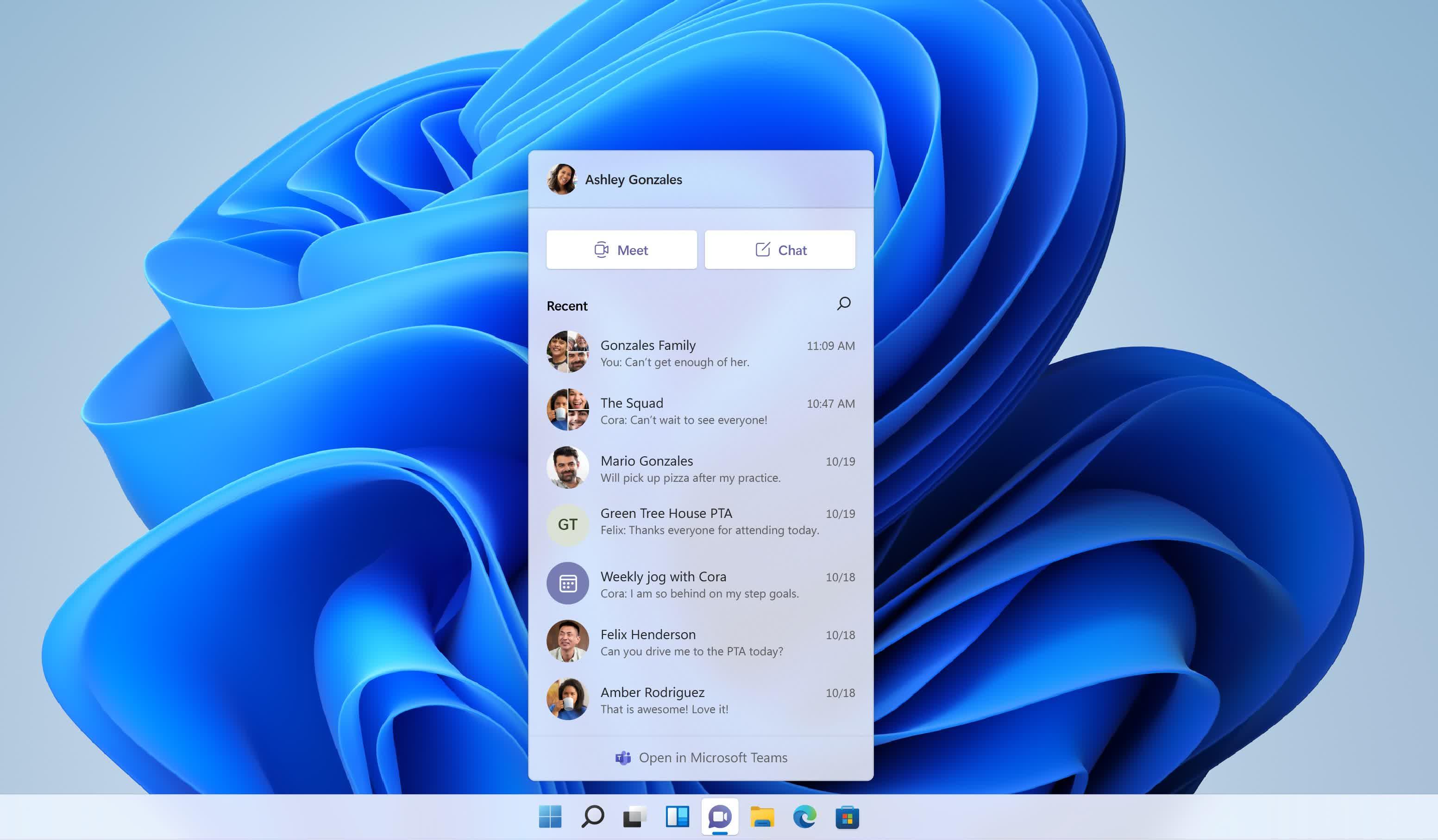 1624561072 617 Microsoft annonce Windows 11 avec une interface utilisateur un menu