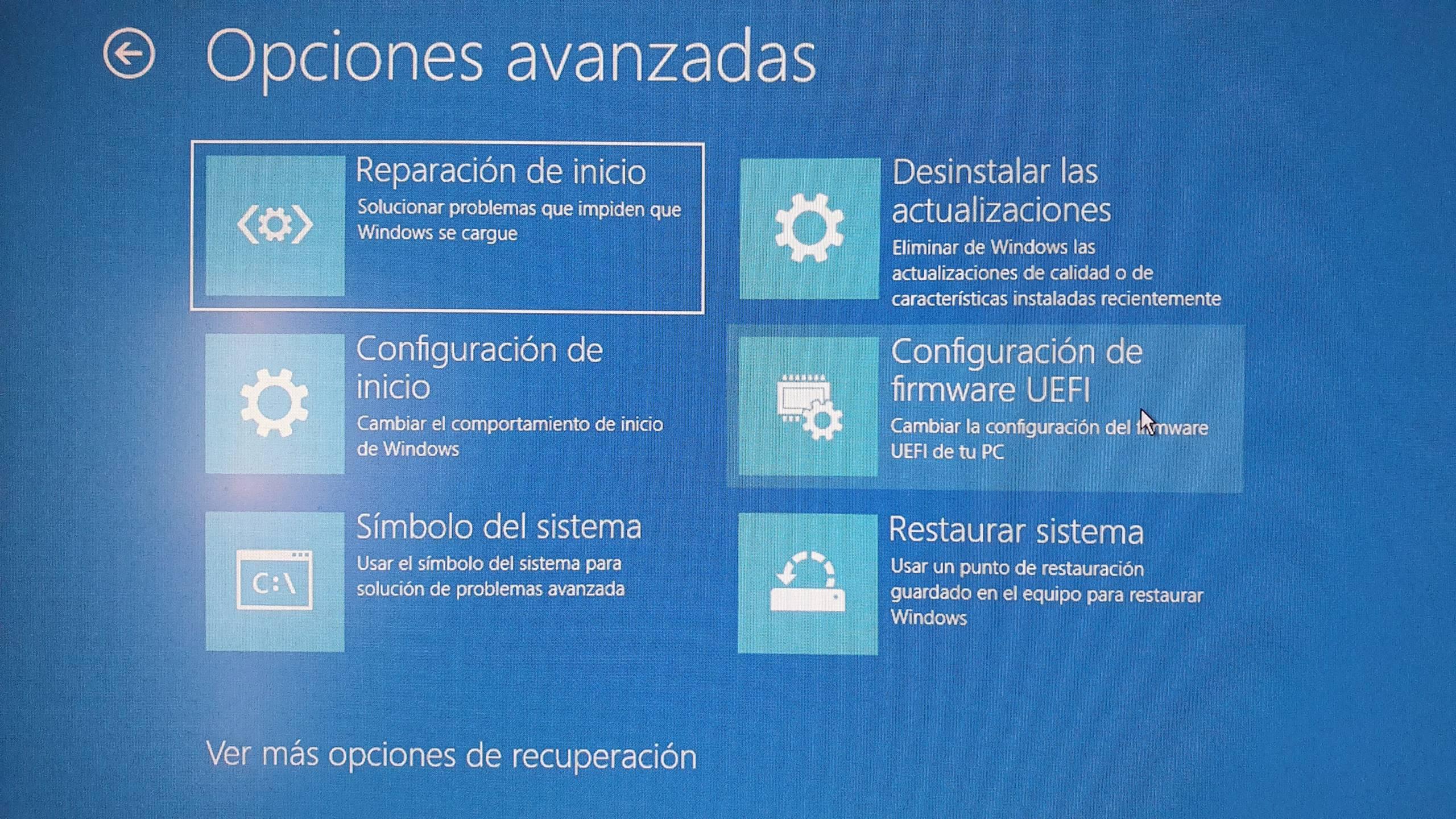 Erweiterte Startoptionen für Windows 10