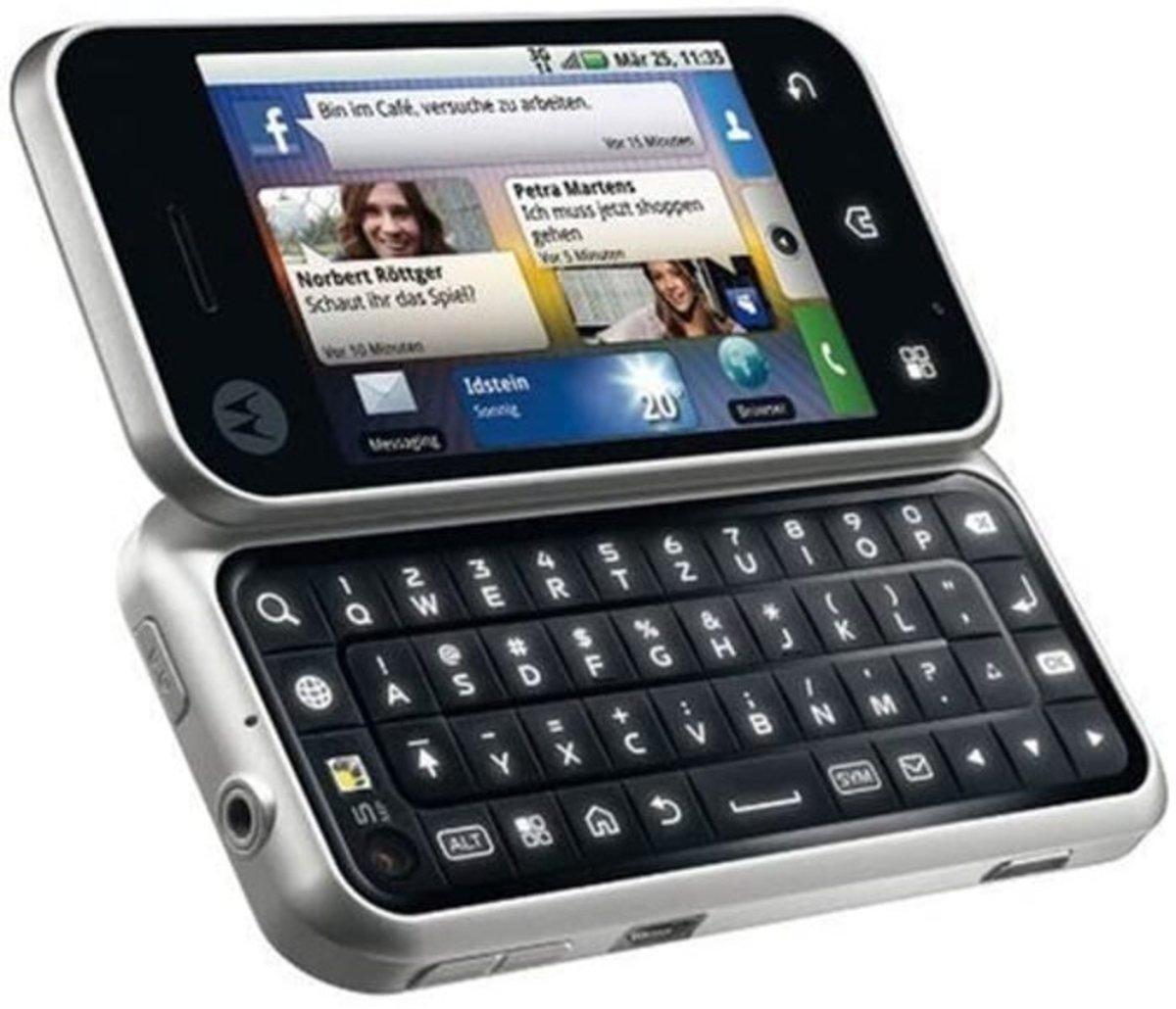 Backflip de Motorola