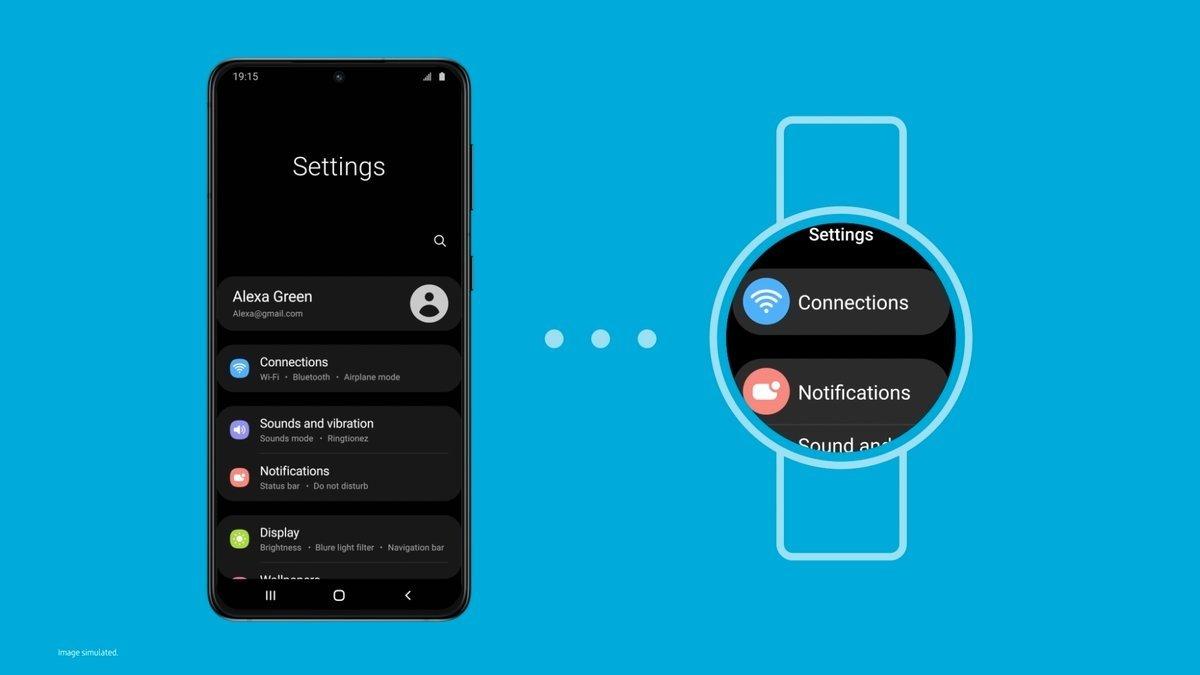 La version One UI pour les montres