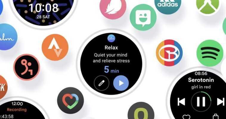 Ceci est One UI Watch, le logiciel Galaxy Watch 4 basé sur Wear OS