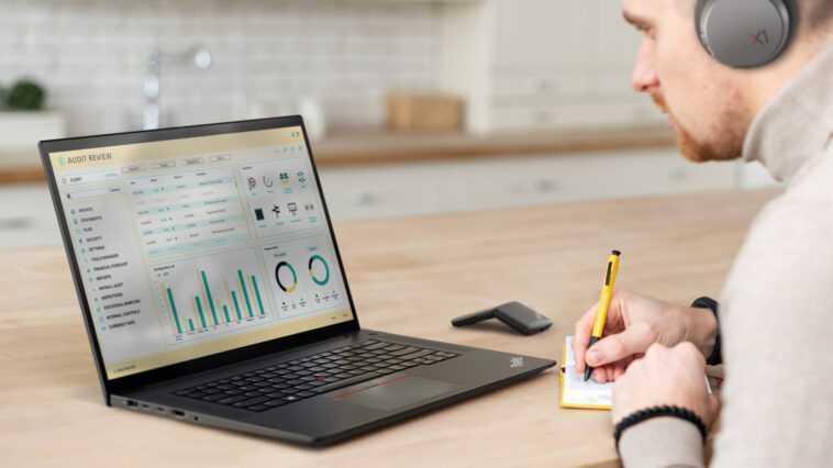 ThinkPad X1 Extreme: Groß und stark in 4. Generation