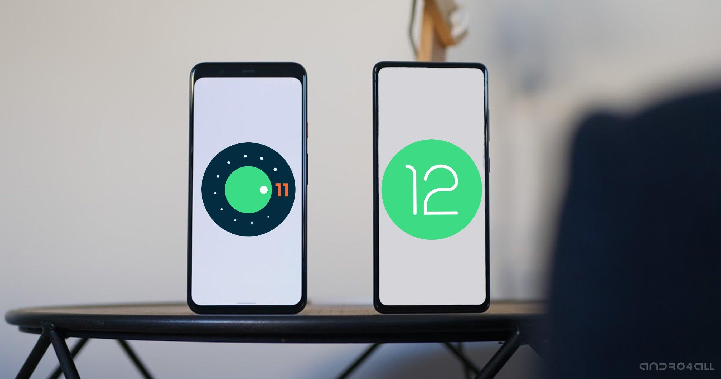 Les deux versions les plus récentes d'Android