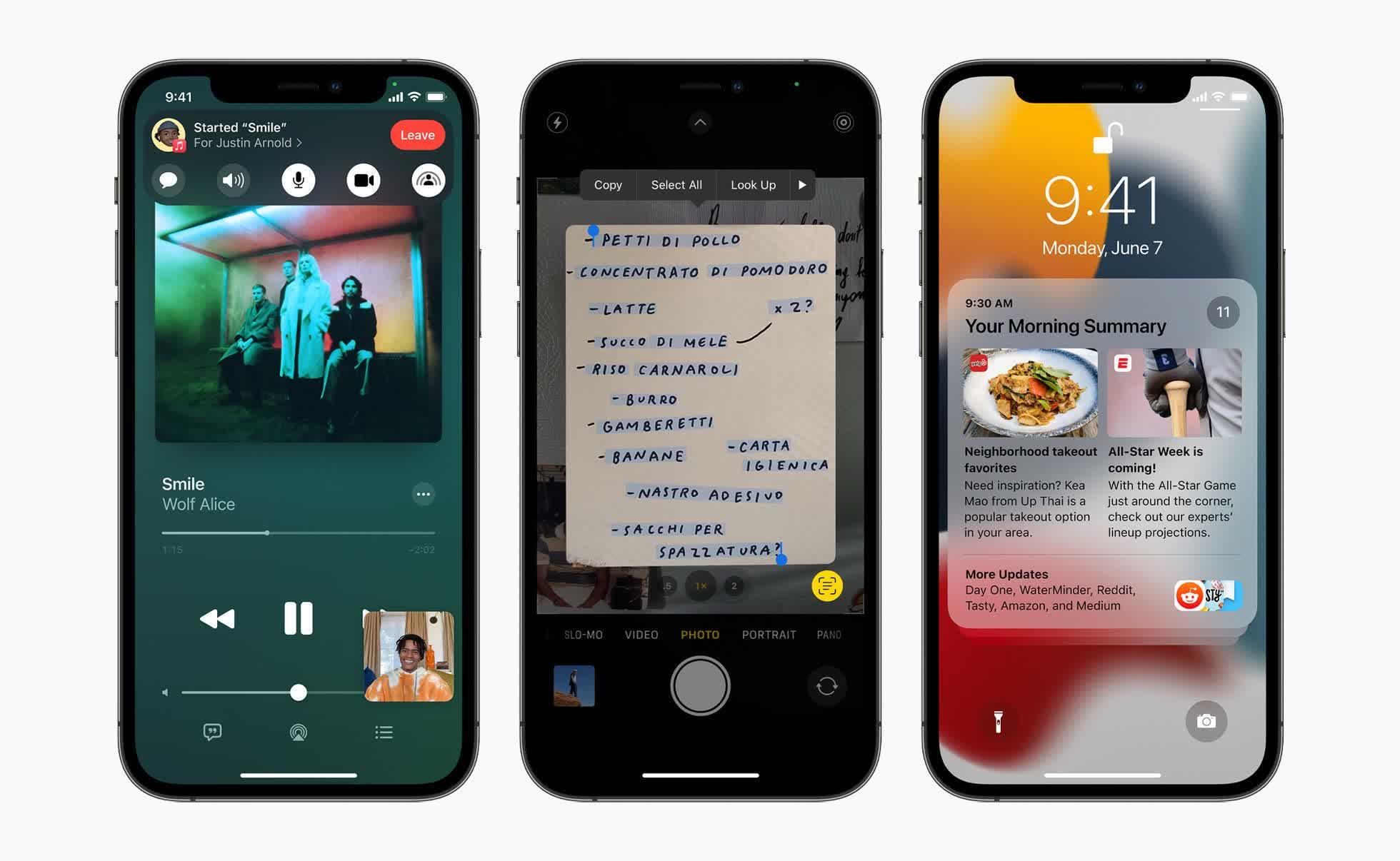 Apple devoile iOS 15 iPadOS 15 et macOS Monterey