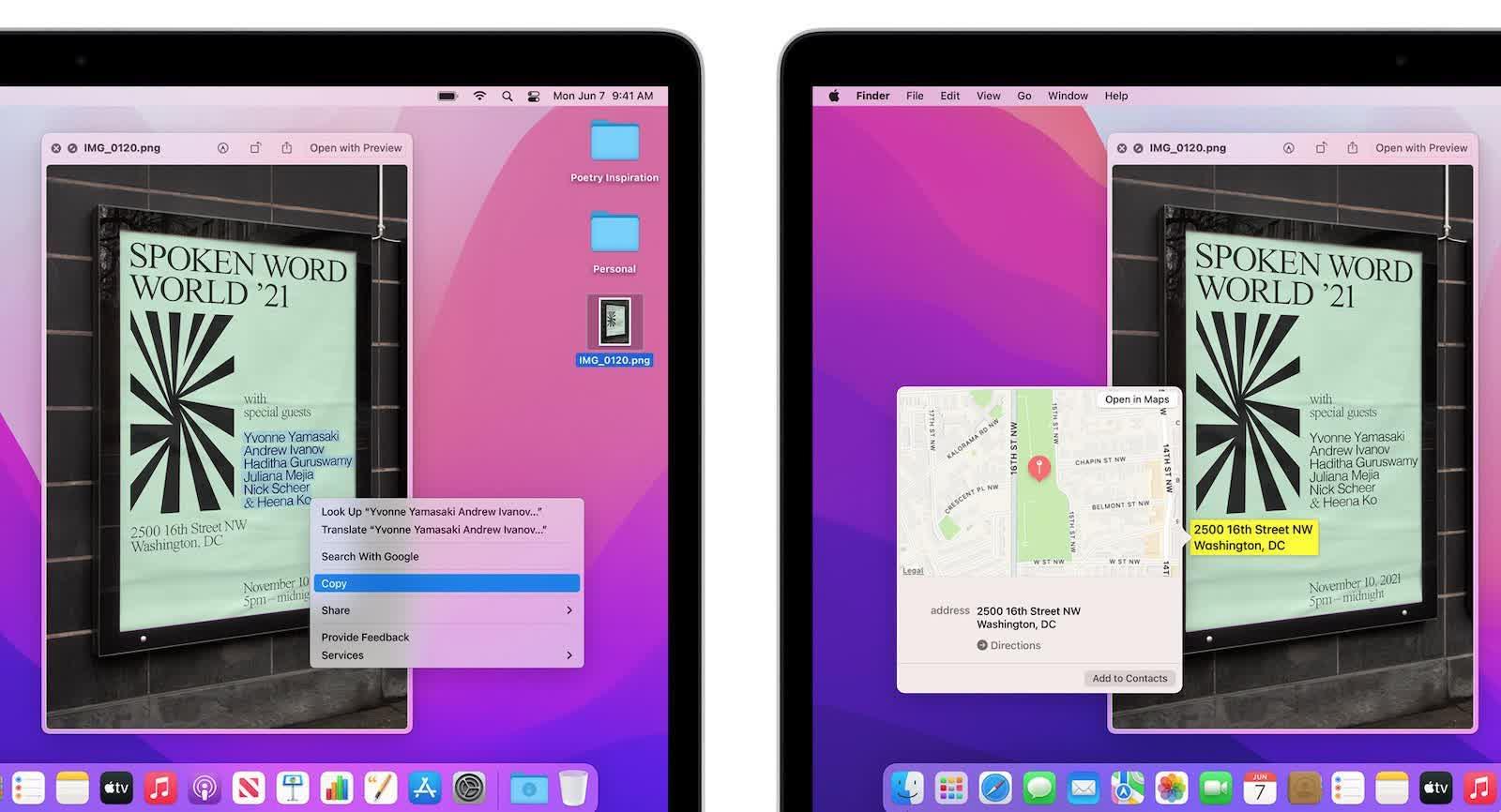 Certaines des meilleures fonctionnalites de macOS Monterey ne fonctionneront pas