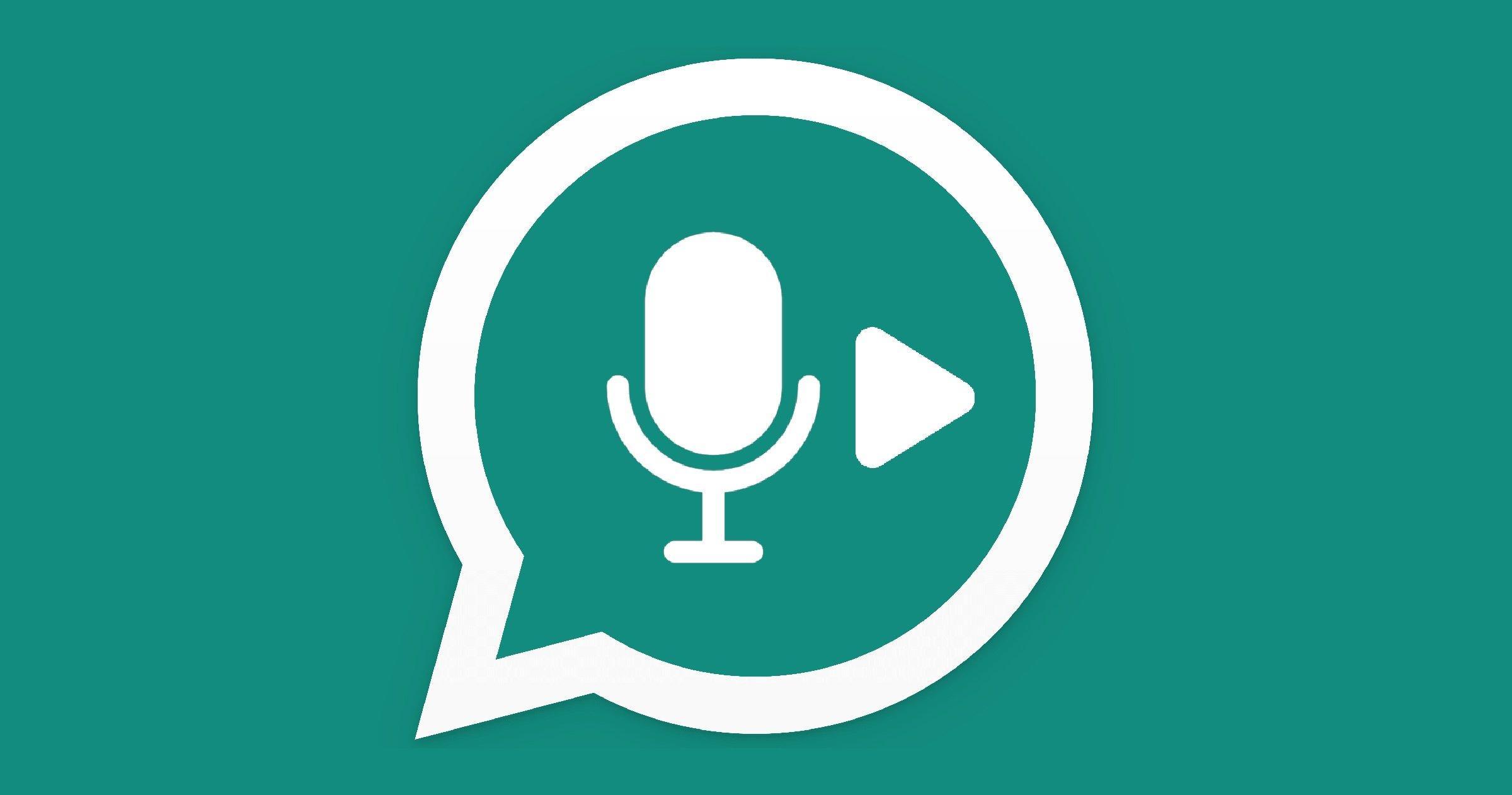 Lire l'audio WhatsApp avant d'envoyer