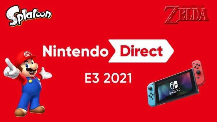 Conférence Nintendo Direct de l'E3 2021;  date, heure et comment regarder en ligne
