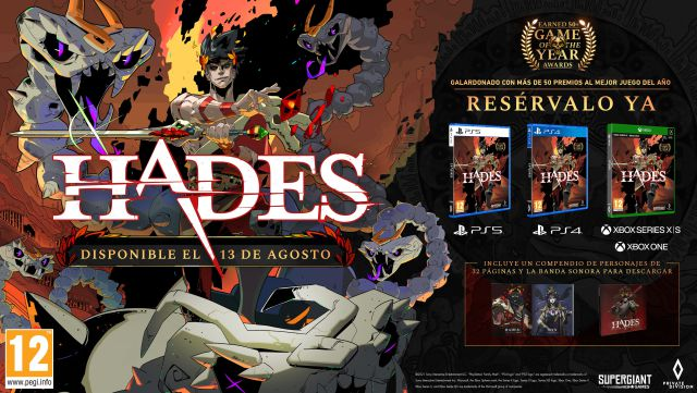 Hades PC PS4 Nintendo Switch Roguelike Supergiant Jeux