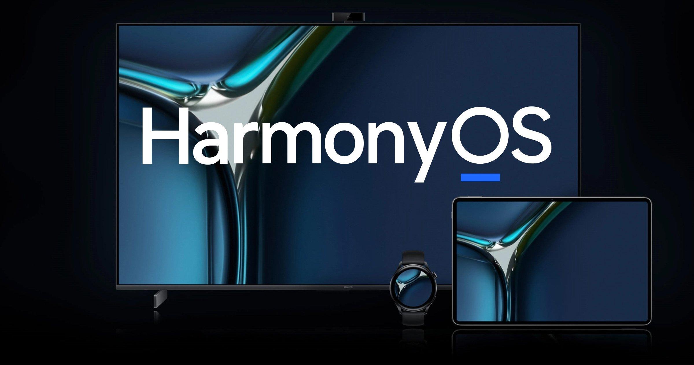 HarmonyOS sur les appareils Huawei