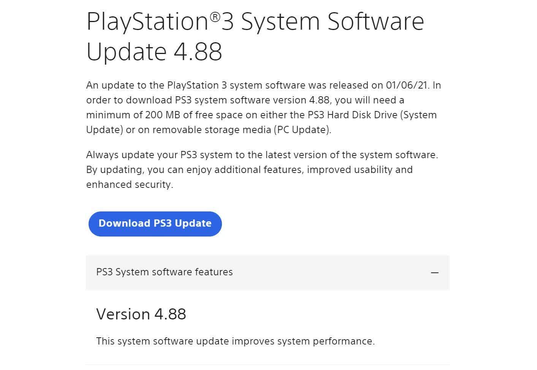 La PlayStation 3 de 14 ans vient detre mise a