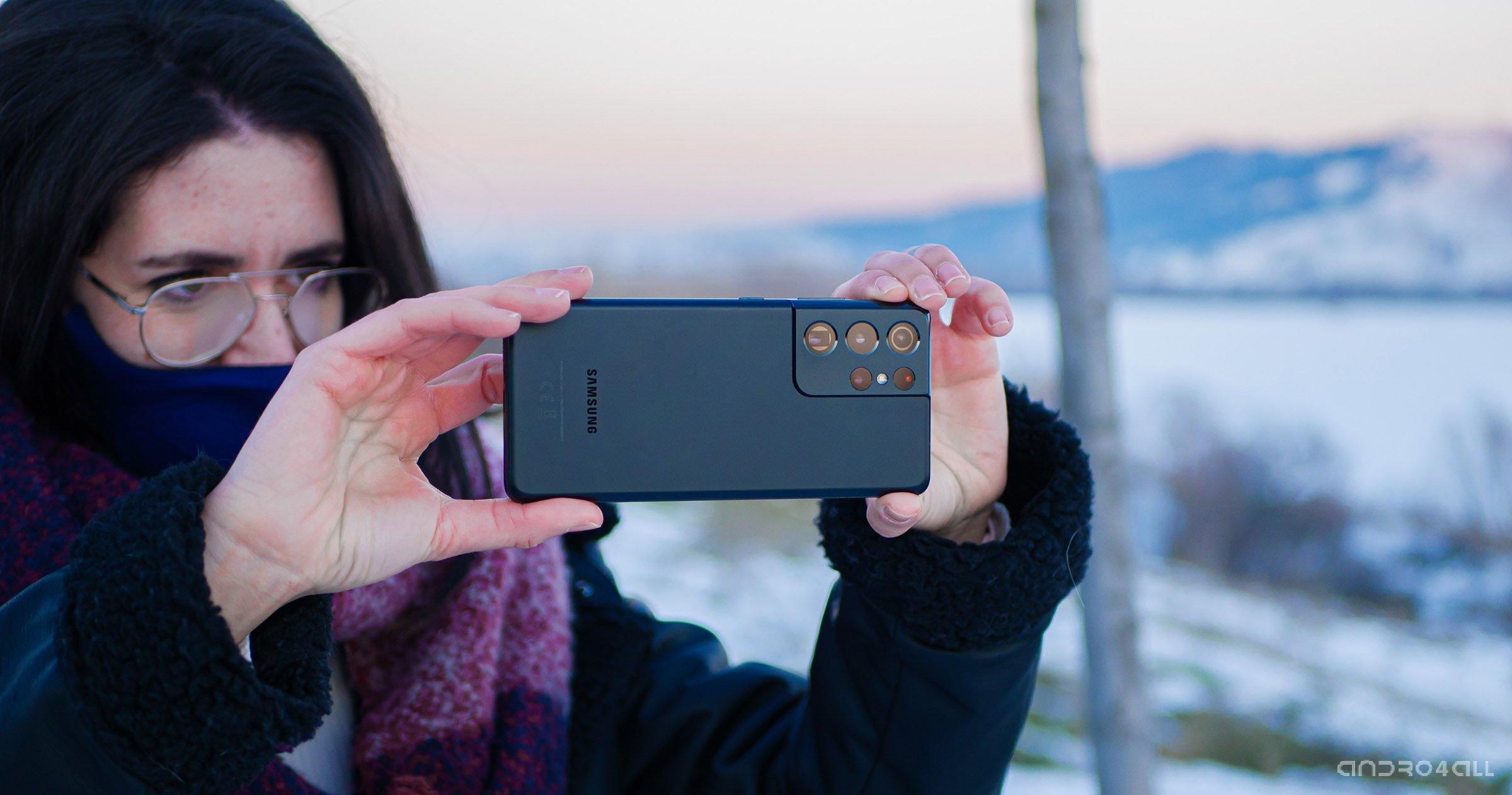 Photographier avec le Galaxy S21 Ultra