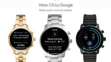 Le nouveau Wear OS peut fonctionner sur les montres connectées actuelles, mais la décision finale appartiendra au fabricant