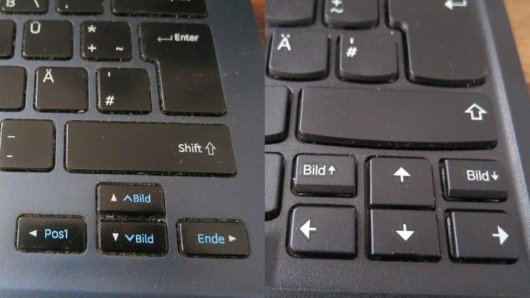 Lenovo ThinkPad TrackPoint Keyboard II im Test Funk Tastatur nur fast