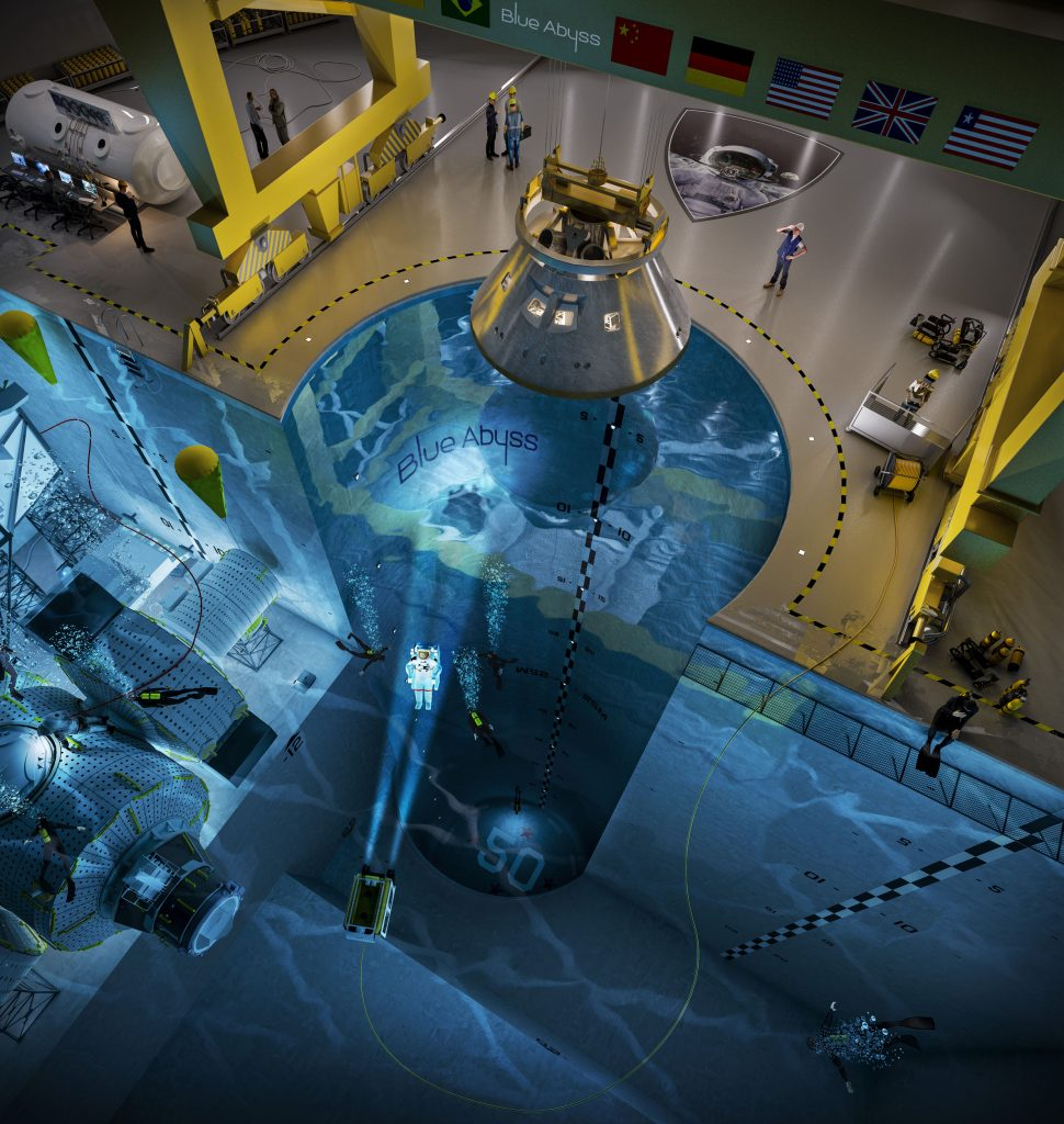 Les astronautes sentraineront dans la plus grande piscine du monde