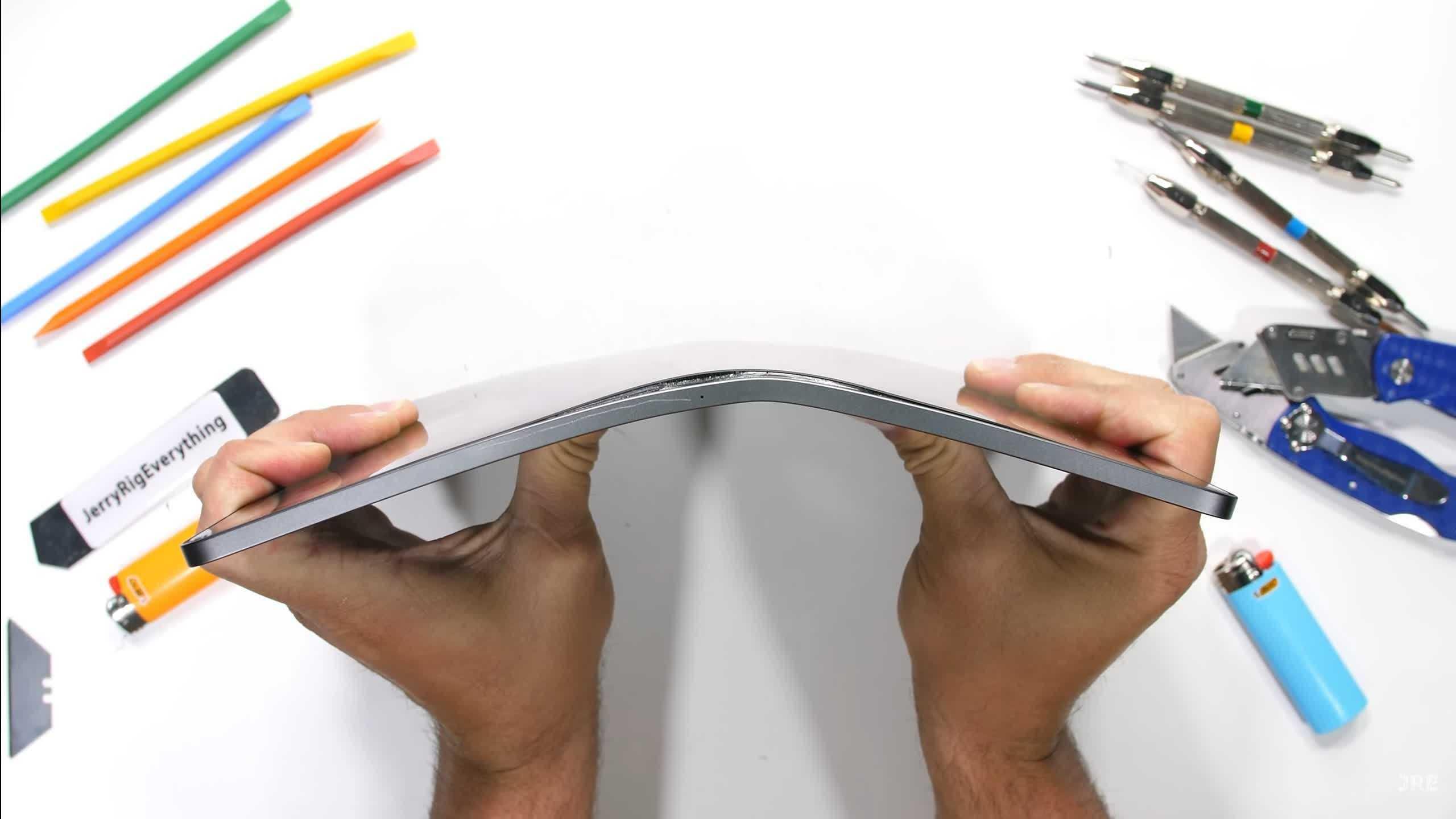 LiPad Pro alimente par M1 dApple gere assez bien les