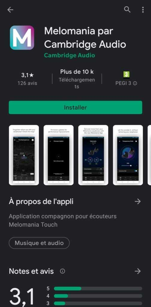 Melomania Android Application