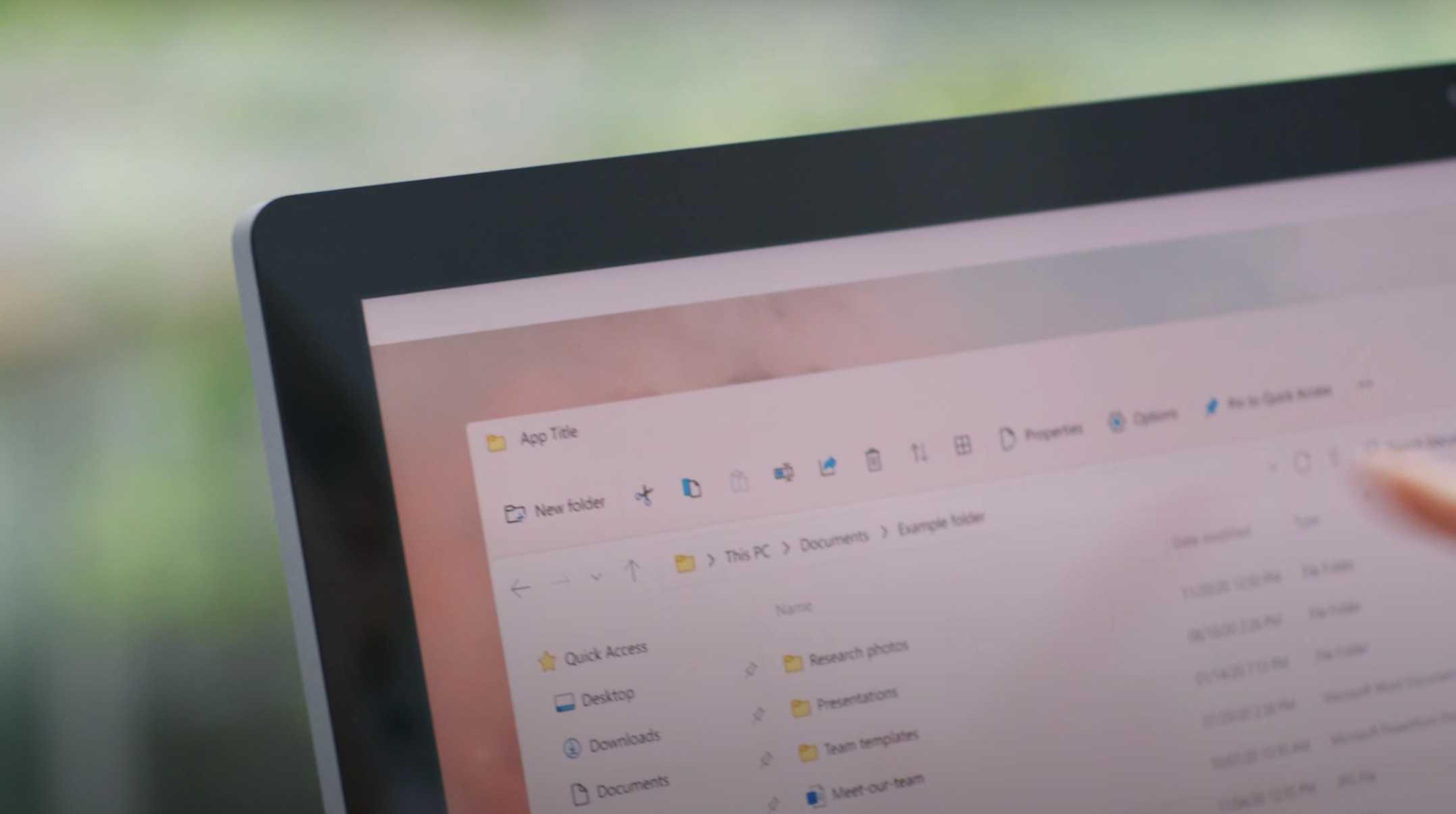 Explorateur de fichiers Windows 11