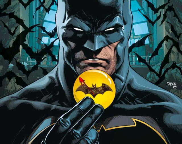 Premier teaser du costume Batman de Michael Keaton dans The Flash : Bloody logo