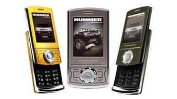 Quand Hummer a lancé son propre mobile : 14 ans depuis le Hummer HT1