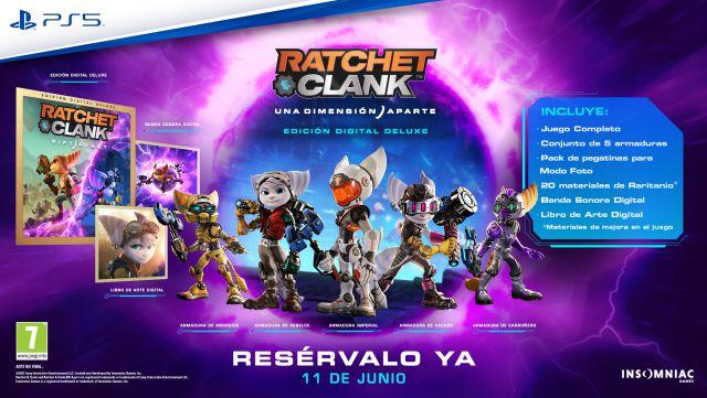 Playstation en précommande Ratchet & Clank A Dimension Apart