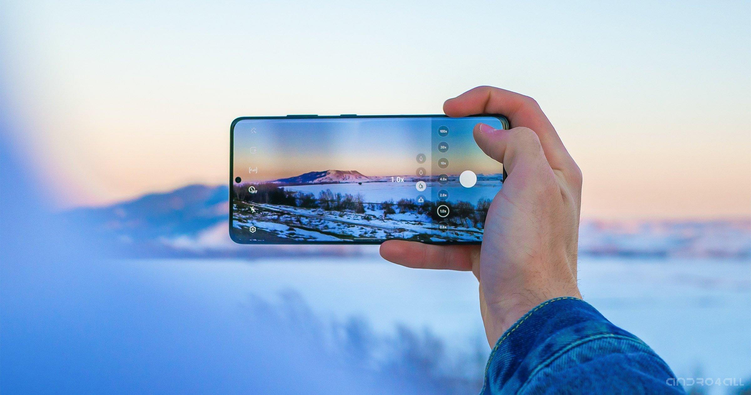 Vidéo avec Samsung Galaxy S21 Ultra