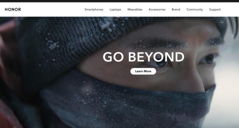 Serie Honor 50 fournie avec Google