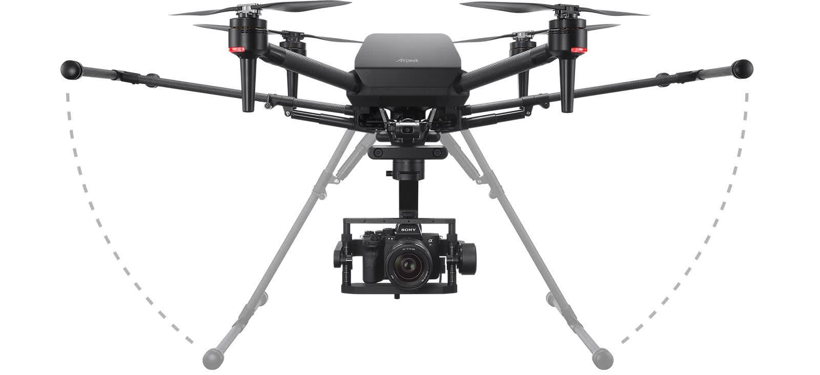 Sony annonce officiellement lAirpeak S1 un drone de qualite professionnelle