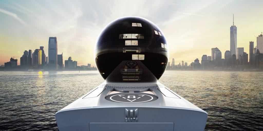 Image de conception de navire Earth 300