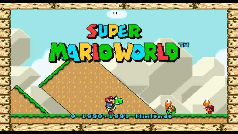 You can now play Super Mario World on widescreen mode
